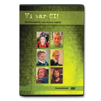 Bild på dvd-boxen Vi har CI!