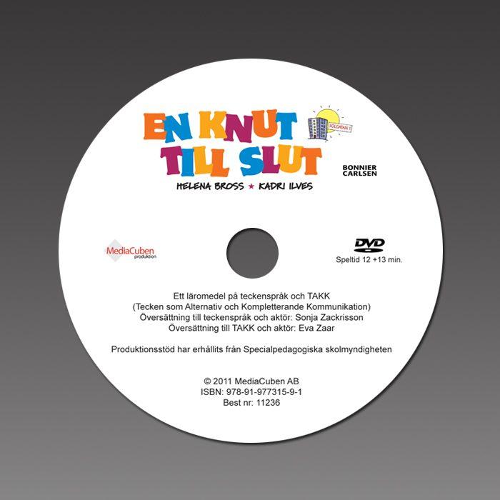 Bild på dvd-skiva En knut till slut