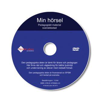 DVD Min hörsel, pedagogiskt material