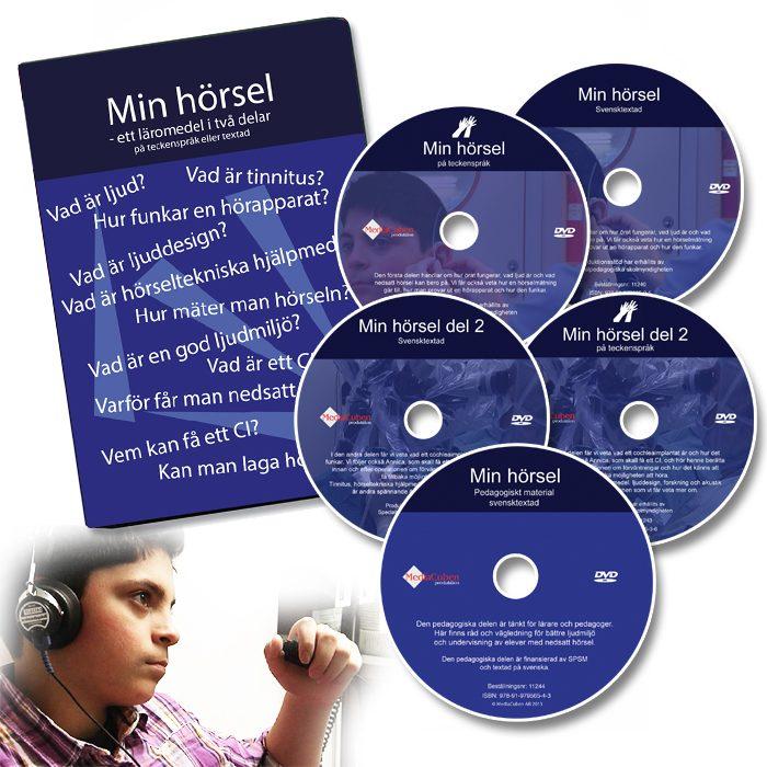 Min hörsel - paket med 5 dvd
