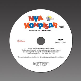 Bild DVD-skiva Nya kompisar