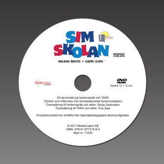 Bild på DVD-skiva Simskolan