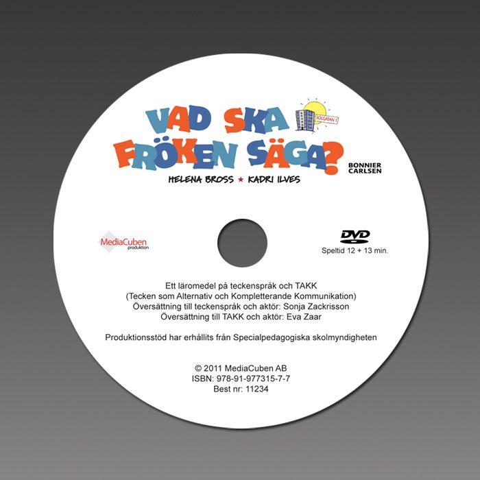 Bild på DVD-skiva Vad ska fröken säga?