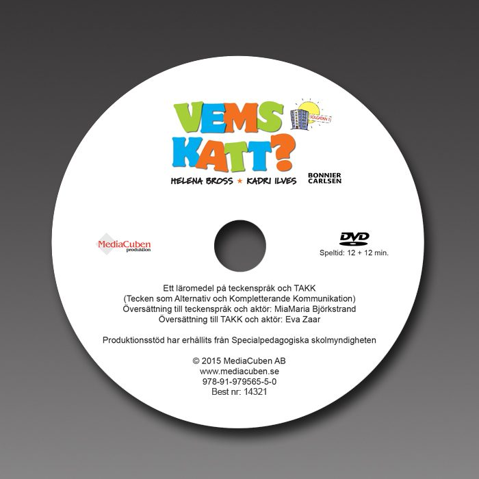 DVD Vems katt?