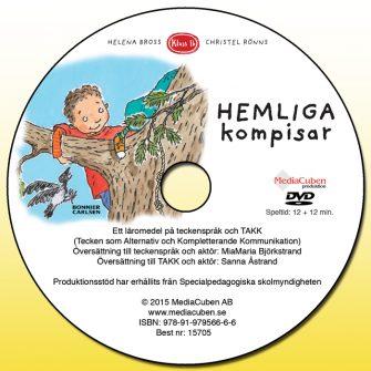 Bild på DVD-skiva Hemliga kompisar