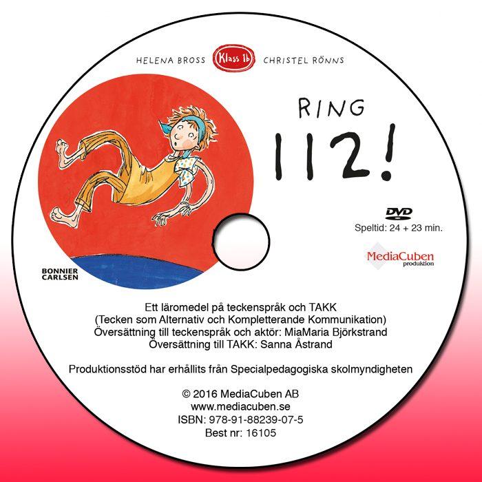 Bild framsida dvd Ring 112!