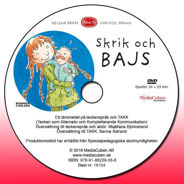 Bild dvd framsida Skrik och bajs