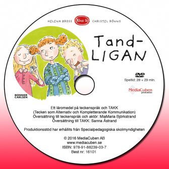 Bild på dvd framsida Tandligan
