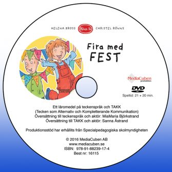 Bild på dvd-skiva Fira med fest