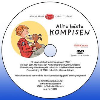 Bild på dvd framsida Allra bästa kompisen