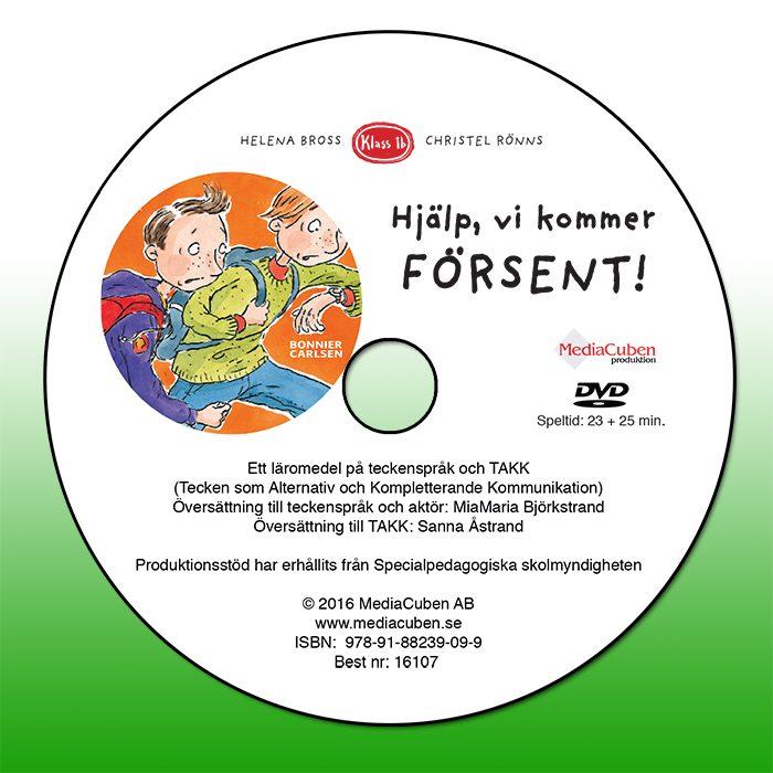 DVD Hjälp, vi kommer försent!